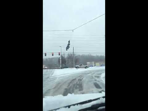 SNOW STORM IN GAINESVILLE GA. 02/12/2014