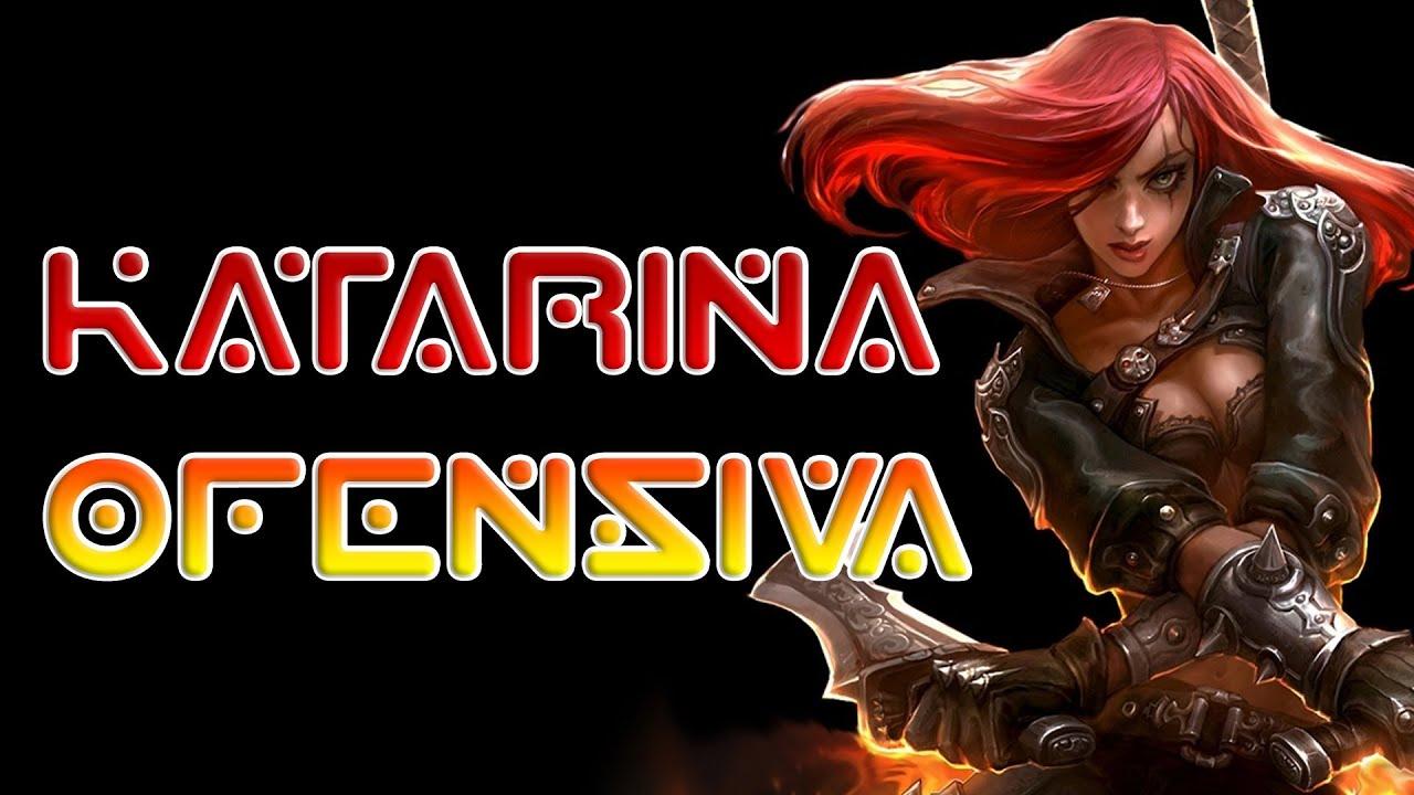Katarina Ofensiva Remake [ League of Legends Gameplay PT