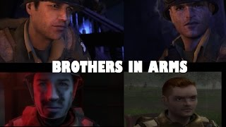 History Of - Brothers In Arms (2005-2008) FULL HD Graphics Comparison!