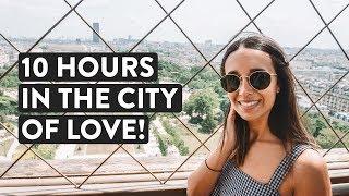 DAY TRIP TO PARIS ❤️ London To Paris Tour | Eurostar Train Travel Vlog | KLOOK