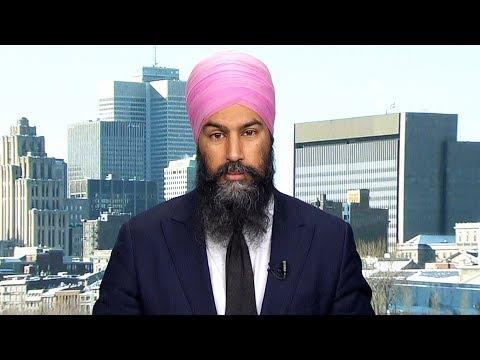 Trudeau 'threw away' a bargaining chip by signing CUSMA: Jagmeet Singh