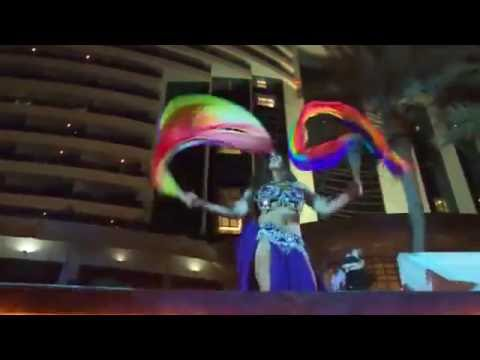 Farrah Belly Dancer- Le Meridien Al Aqah Beach Resort