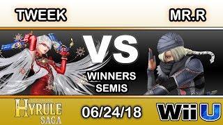 Hyrule Saga - Tweek (Bayonetta) Vs. BC | Mr.R (Sheik) Winners Semis - Smash 4