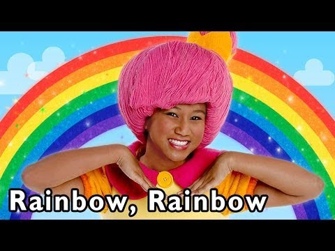 Rainbow Color Song | Rainbow, Rainbow and More | Baby Songs from Mother Goose Club!