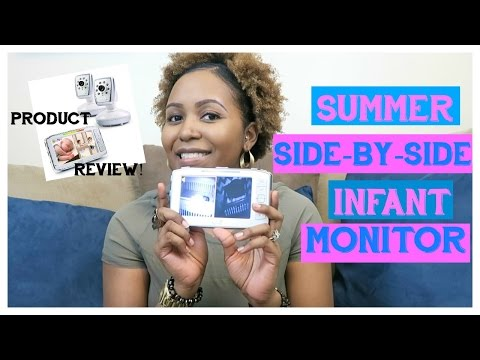 summer-dual-infant-monitor-review-|-side-by-side-split-screen-video-monitor-set