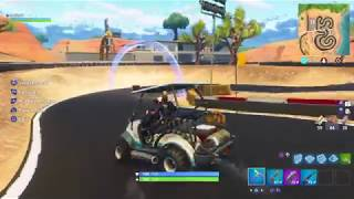 Fortnite Battle Royale - Secret Race on the Racetrack (Season 5)