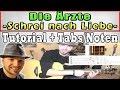 ★Ärzte SCHREI NACH LIEBE Akustik Gitarren Tutotial | Liedbegleitungs Akkordversion