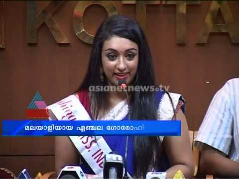 Miss India washington and Malayalee Angela likes acting in malayalam films