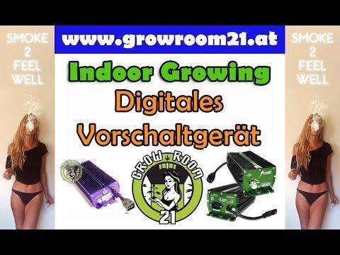 Vorschaltgerat Anschliessen Digital Dimmbar Growbox Lampe Lumatek