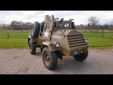 TOP 10 - WWII Surviving Vehicles - The Canadian GM - OTTER - Light Reconnaissance Car