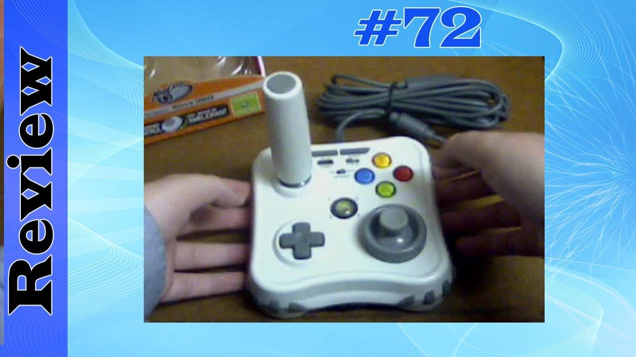 Mad Catz Arcade Gamestick (Xbox 360 Live Arcade) - YouTube