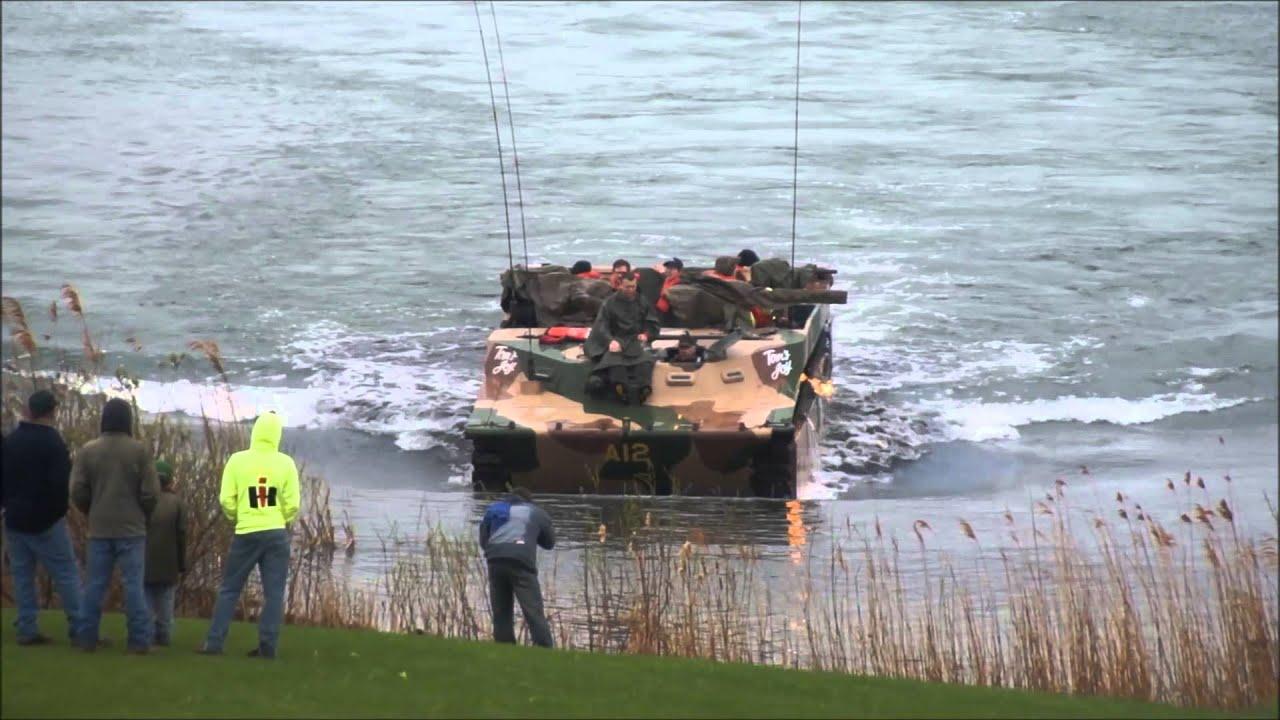 Amphibious Vehicle For Sale >> WW-II LVT4 Water Buffalo Part 1 - YouTube