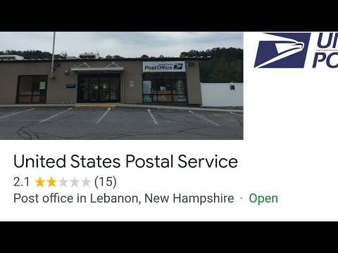 Post Office Audit Lebanon, Nh