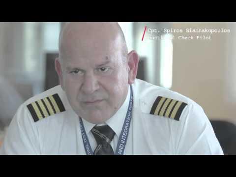 Πώς η Aegean Air παραλαμβάνει ένα νέο αεροσκάφος