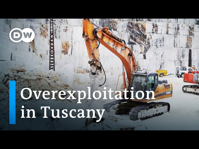 Conservation vs. economy – the marble quarries of Carrara | DW Documentary