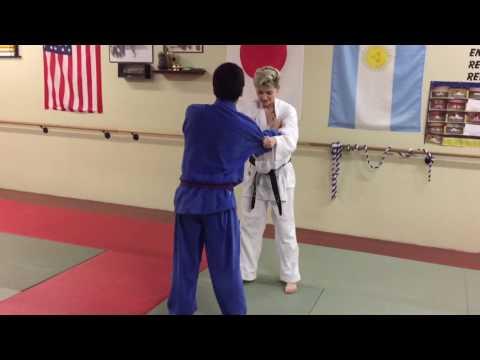 Eudo Kids Judo (learning O Soto Gari)