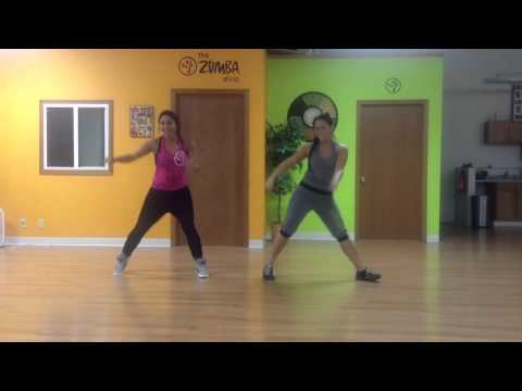 Zumba with Mayra and Elizabeth