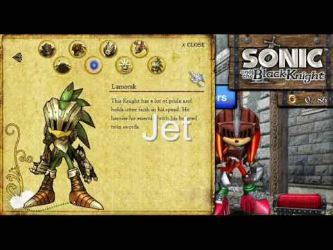 and games knight Sonic black the