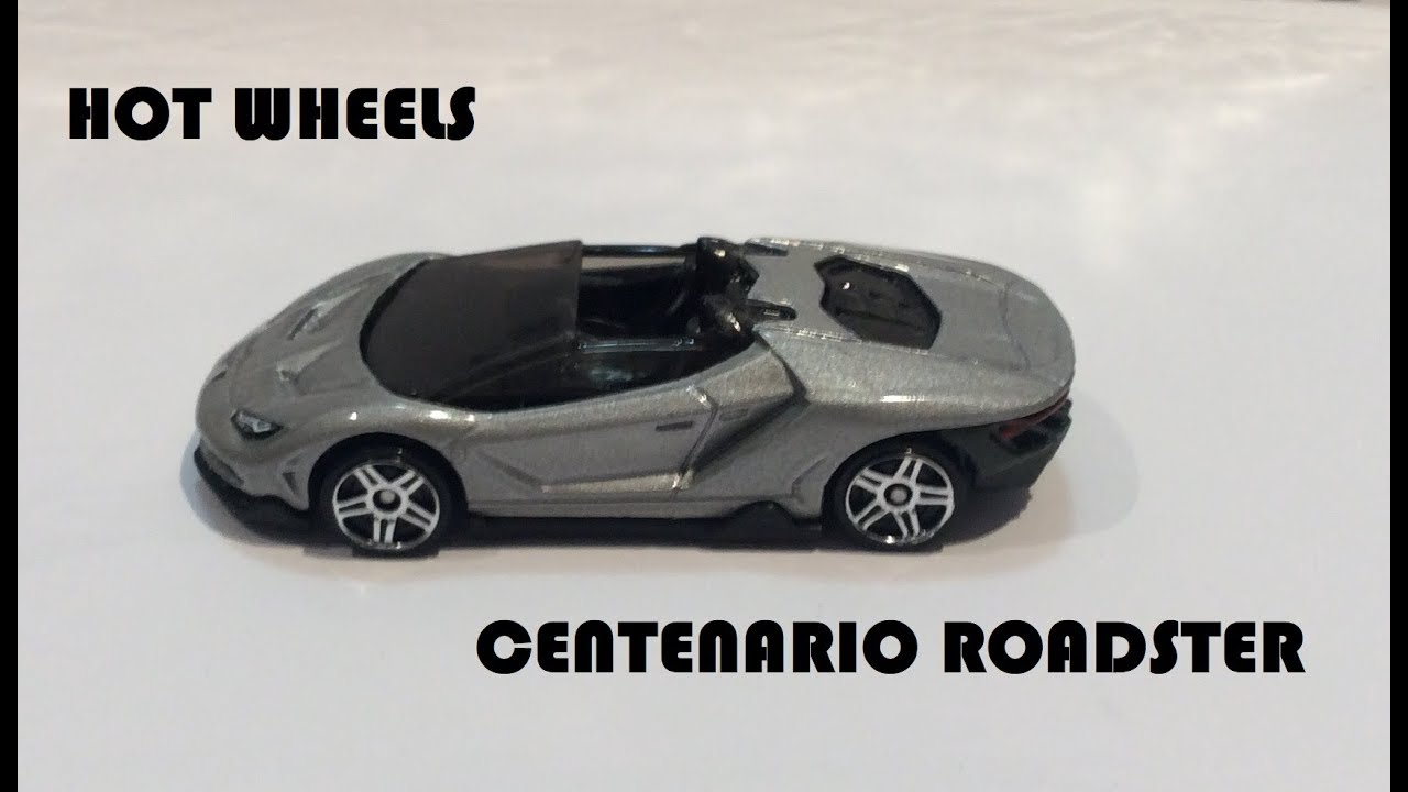 2020 Hot Wheels '16 Lamborghini Centenario Roadster