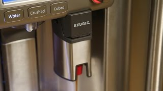GE's Cafe Series fridge wants to make you a cup of coffee