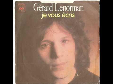 Gerard Lenorman - Je vous écris