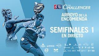 Semifinales Femeninas WPT Arroyo de la Encomienda Challenger 2018