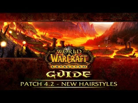 WoW 4.2 Patch - New Hairstyles