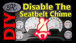 ★Seatbelt Chime / Alarm / Bell How To Turn It Off DIY