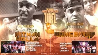 SMACK/ URL PRESENTS HITMAN HOLLA VS CONCEITED | URLTV