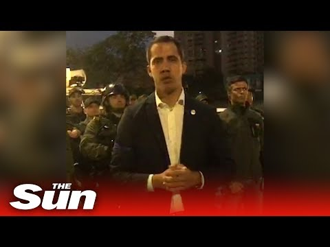 Venezuela coup: Guaido calls for 'military uprising' (English)