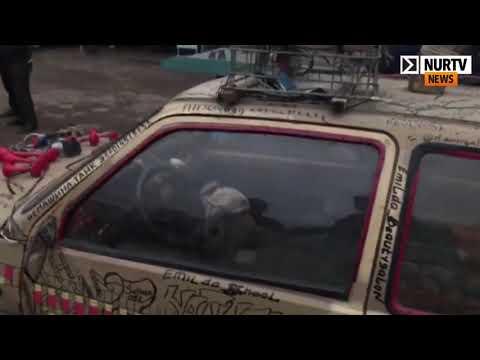 Водитель «авто на дровах» использовал подложные госномера