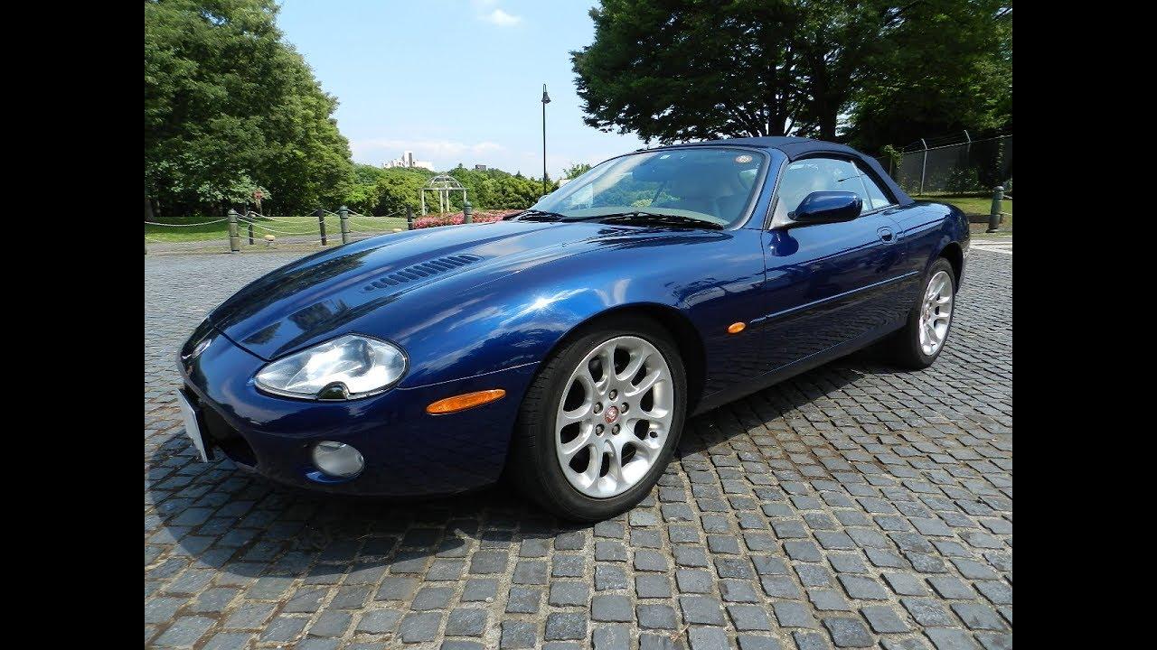Jaguar XKR Convertible (X100) '2000 - YouTube