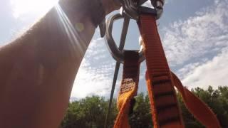 On a testé : Le parcours accrobranches au Lac des Bretonnières