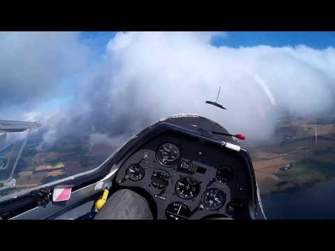 Gliding in a K-21 over Scotland
