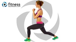 Fat Burning HIIT Workout - At Home HIIT Cardio wit...