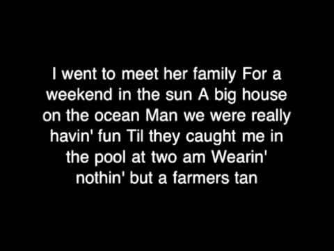 Justin Moore: Redneck Side lyrics
