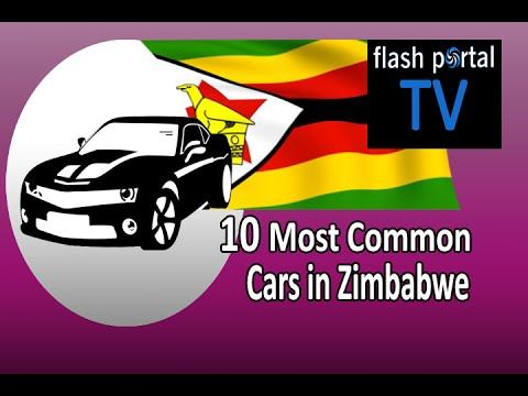 10 Most Common Cars in Zimbabwe