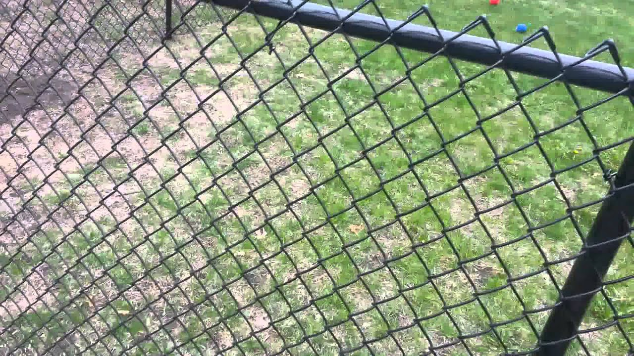 Black Chain Link Fence Blaine, MN Northland Fence - YouTube
