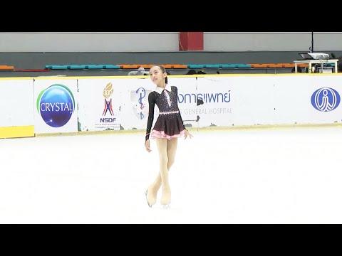 Nayfa Ikut Kompetisi Ice Skating Di Bangkok Thailand #2