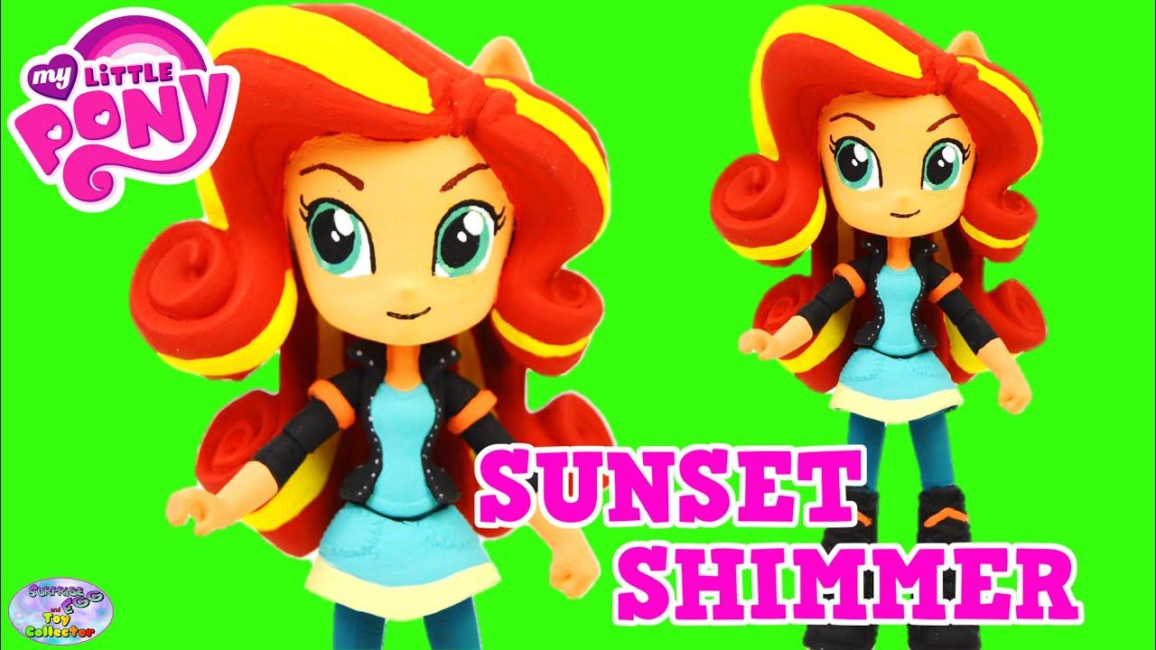 Sunset Shimmer Para Colorear: My Little Pony Equestria Girls Dolls Sunset Shimmer