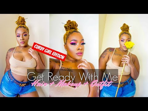 GET READY WITH ME CURVY GIRL EDITION| HAIR + MAKEUP + OUTFIT. http://bit.ly/2Clqkib