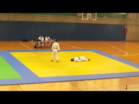 Jesús Garriga Katame no kata examen 3 dan Judo