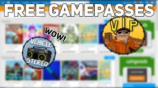 HOW TO GET ANY GAMEPASS FOR FREE! - ROBLOX 2017 - WORKING
