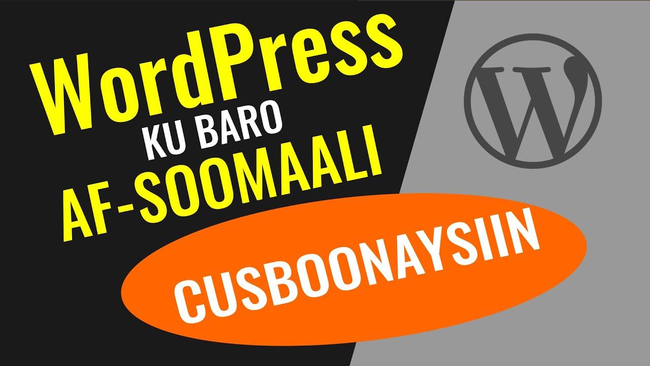 Sida WordPress Loo Cusboonaysiiyo si aysan u Jabsan Shuftada Internetku