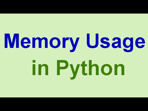 Python Tips & Tricks: How to Check Memory Usage