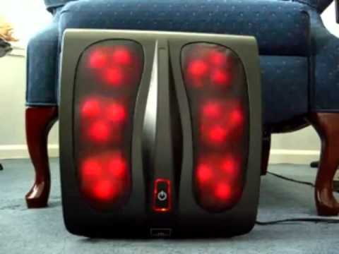 homedics spa with foot massager and wellness