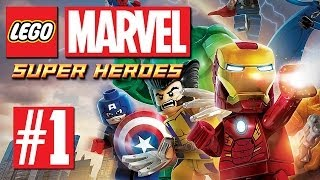 Thumbnail für das LEGO Marvel Super Heroes Let's Play