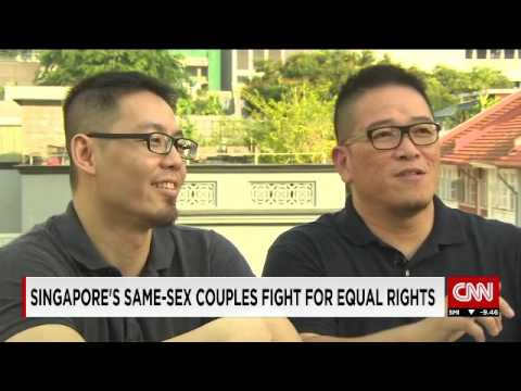 CNN: Singapore's same sex couples fight for equal rights