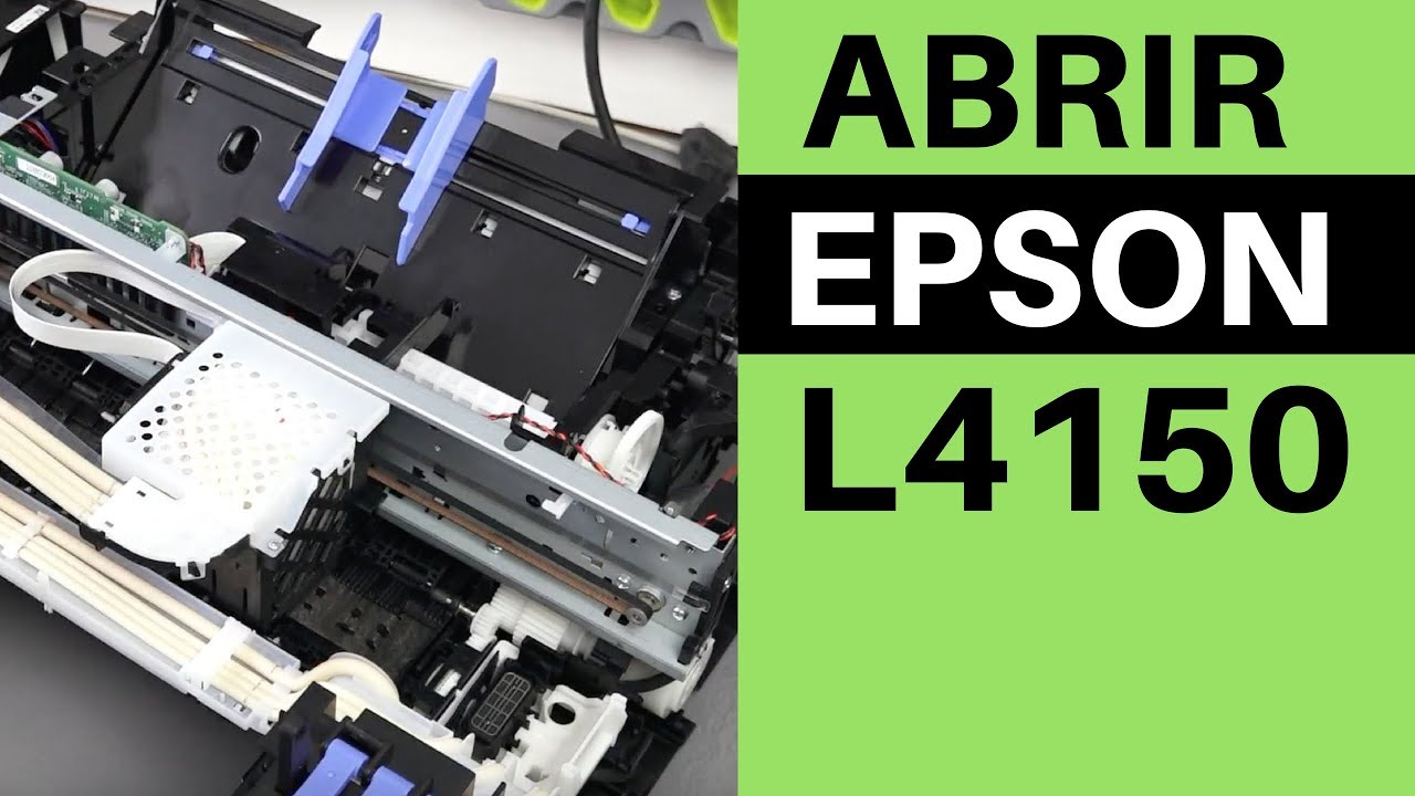 Como Abrir EPSON L4150 - Disassemble EPSON L4150