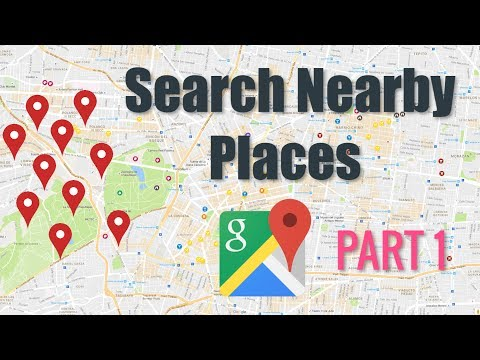 Google Maps Nearby Places Tutorial  |  PART 1  ( Android Tutorials )